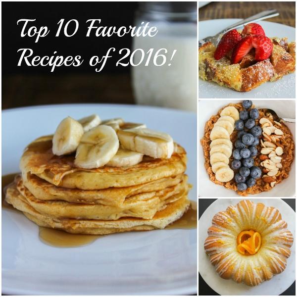 Top 10 Favorite Recipes of 2016 | The Chef Next Door