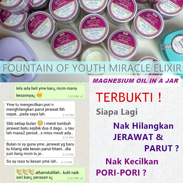 Fountain Of Youth Miracle Elixir Perfect Anti Ageing