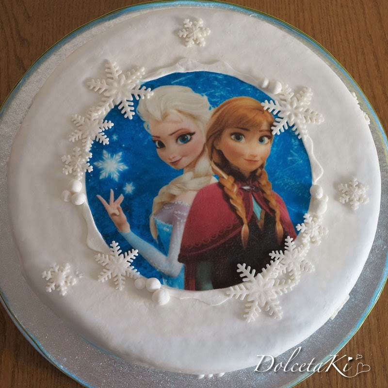 torta elsa e anna frozen