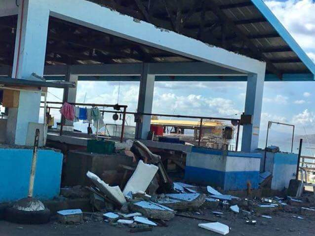earthquake damage Batangas