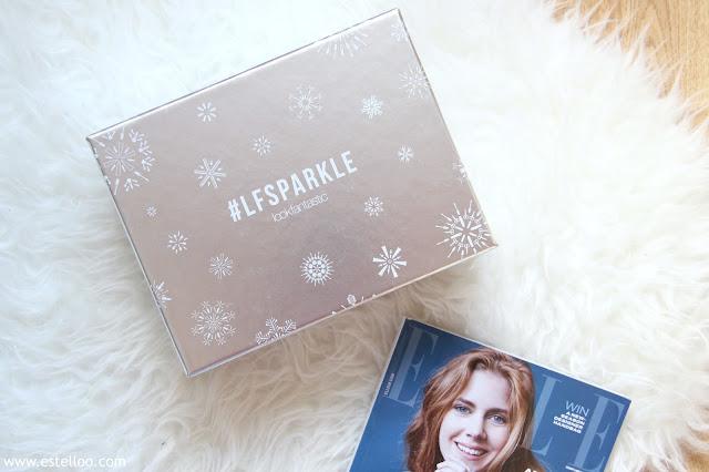 Look Fantastic Box, novembre 2016 - Sparkle !