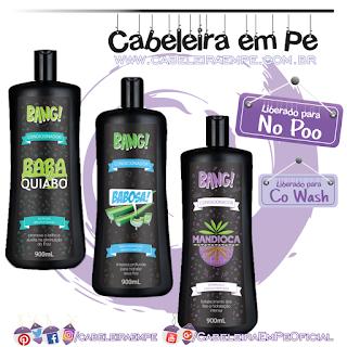 Condicionador Bang! Baba de Quiabo, Babosa e Mandioca - Tutanat (No Poo e Co Wash)