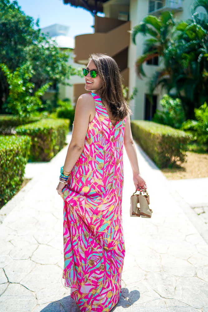 maxi dresses, what to pack for the beach