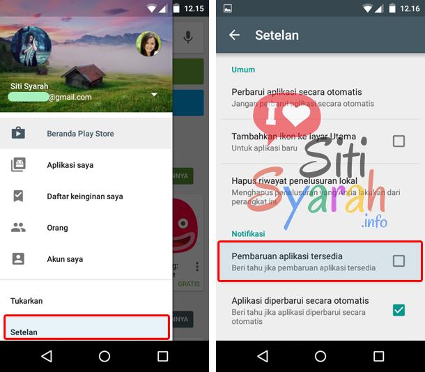 kenapa harus update aplikasi android