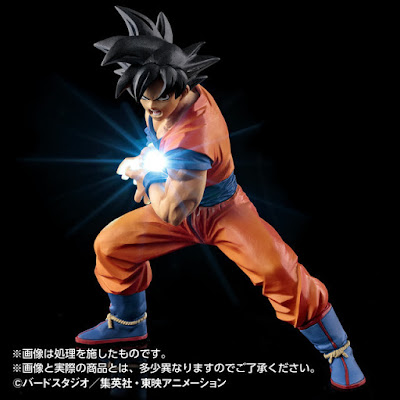 Action Figure LED Son Goku Kamehameha 02