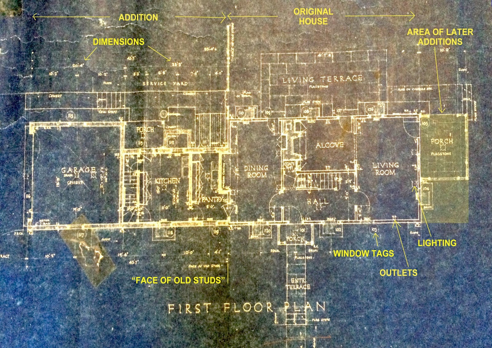 Interpreting Historic House Blueprints   Home Scribe History