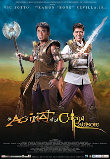 Si Agimat at Si Enteng Kabisote is an action comedy fantasy crossover film directed by Tony Reyes which stars Vic Sotto and Sen. Bong Revilla Jr.