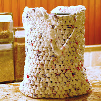 Plarn Grocery Tote