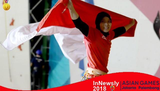"""Spesial Aries Susanti, """"Spiderwoman"""" Indonesia di Asian Games"""