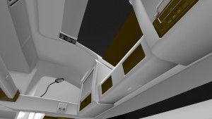 Gold White Interior for Volvo 2012