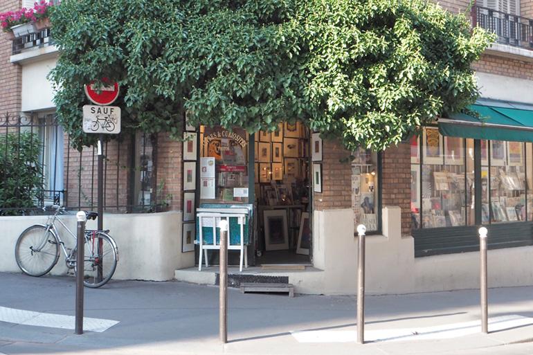 Flânerie dans les rues de Paris