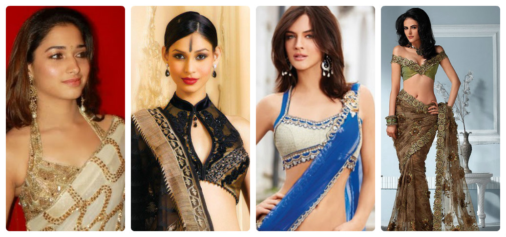 Modern Sri Lankan Saree Blouse Designs and Design Ideas ...