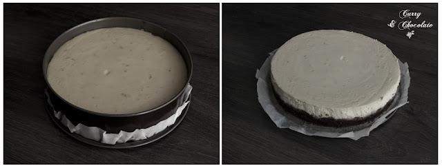 Tarta sacada del horno sin decorar aún
