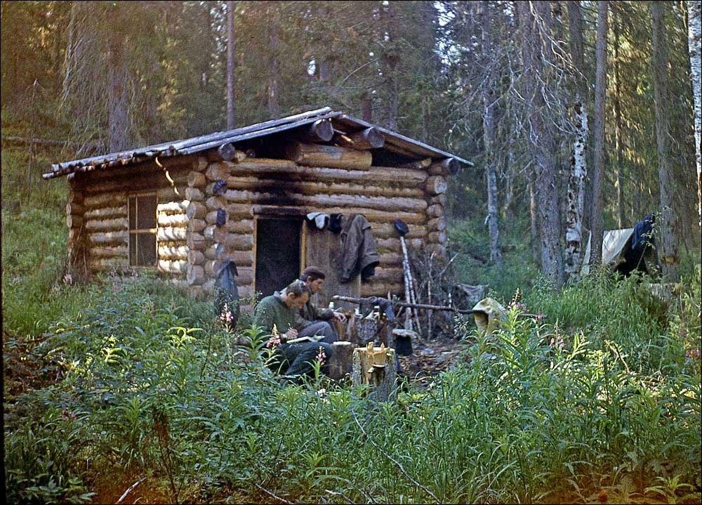 Фото небольших скандинавских домиков была найдена