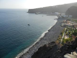 Playa Santiago vista desde el hotel