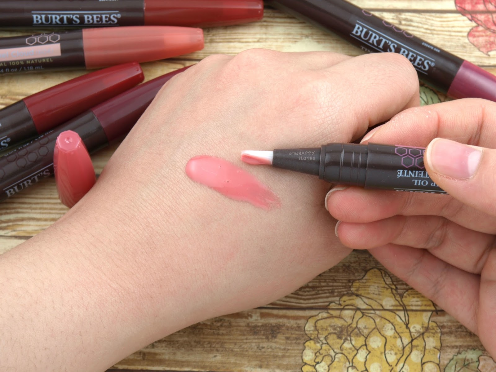 Burt's Bees Tinted Lip Oil: Review and Swatches