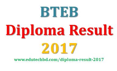 BTEB Diploma Result 2017