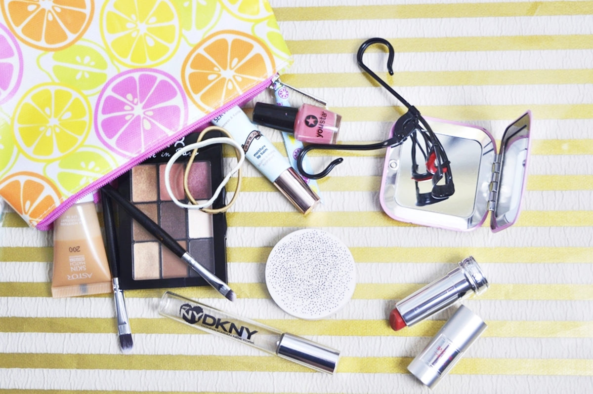 What's in my BeautyBag - my Beauty Bag and products