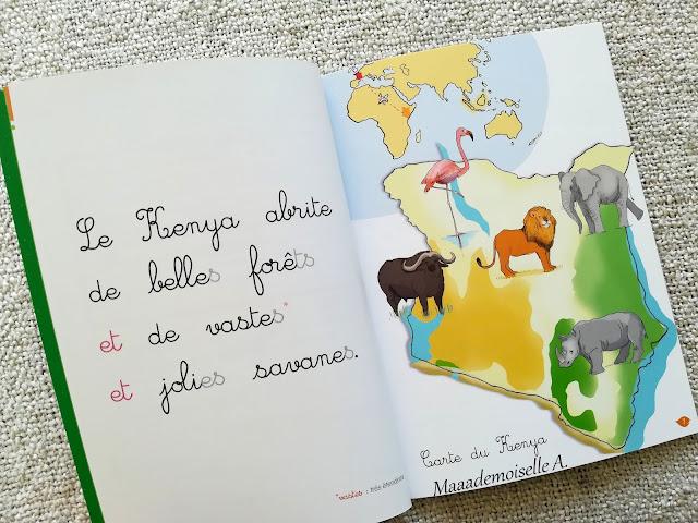 J'apprends à lire Montessori, En route pour la savane
