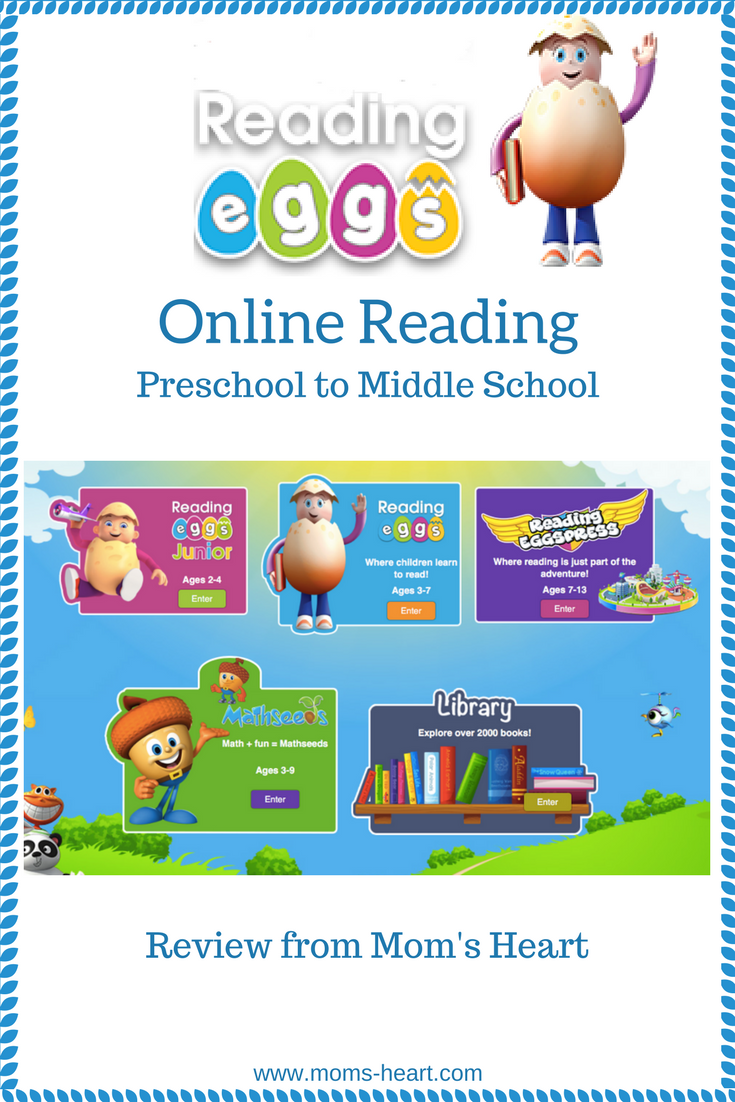 Mom\'s Heart: Reading Eggs Review
