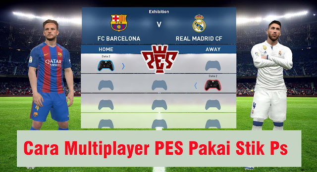 Cara Main Multiplayer Pes Pakai Stik Di Laptop / Pc (Pes 2013-2019)