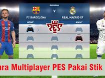 Cara Main Multiplayer PES Pakai Stik di Laptop / PC (Pes 2013-2019)