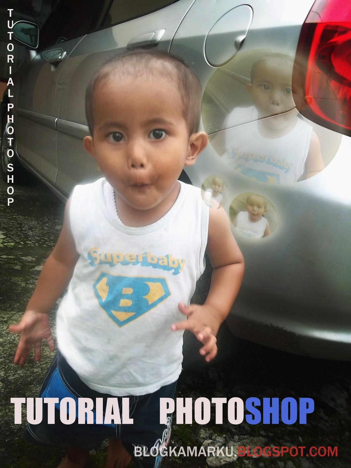 CARA BIKIN GELEMBUNG DI PHOTO SHOP
