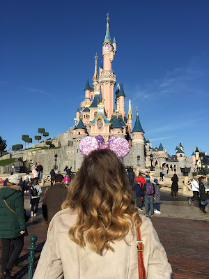 Disneyland Paris' Cinderella castle