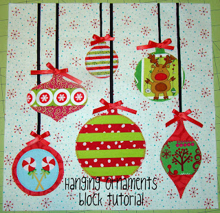 Sewcraftyjess Hanging Ornaments Block Tutorial
