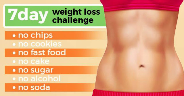 7 Day Weight Loss Challenge: Lose Weight Quickly and Safely in Just One Week