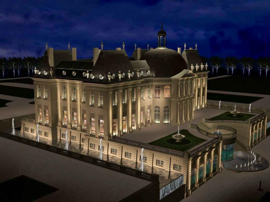 Kimye 39 s parisian wedding location for Chateau louis 14 louveciennes