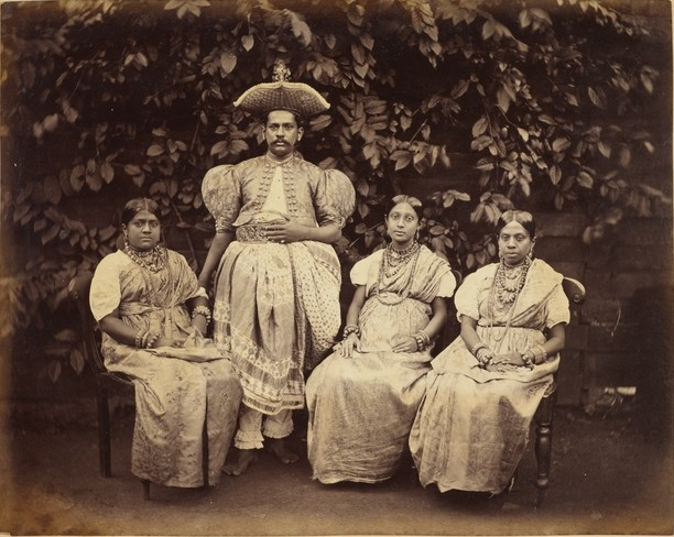 Kandy chief and ladies