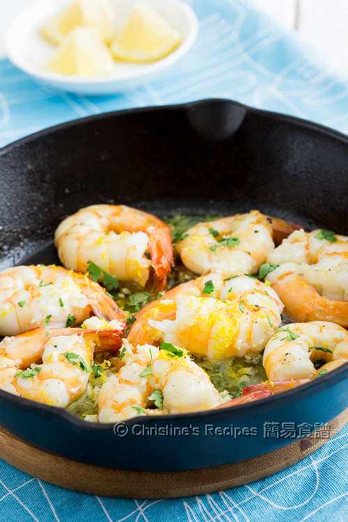 蒜蓉檸檬煎蝦 Lemon Garlic Prawns03