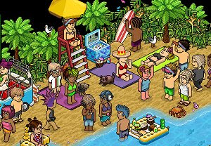 Habbo Hotel virtual world free chatroom
