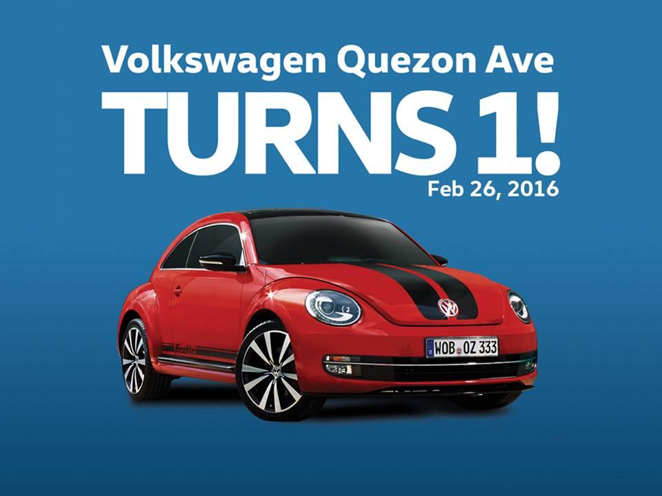 Volkswagen Quezon Avenue's 1st year anniversary