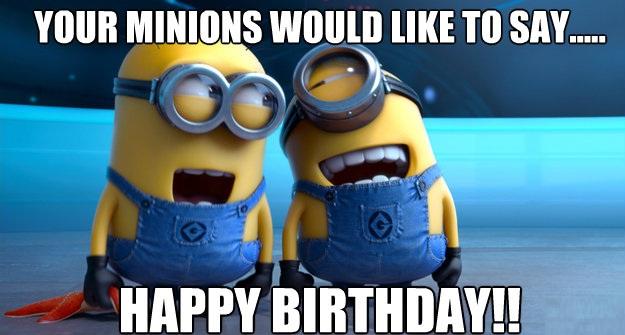 Bildergebnis für Birthday Minions Pictures