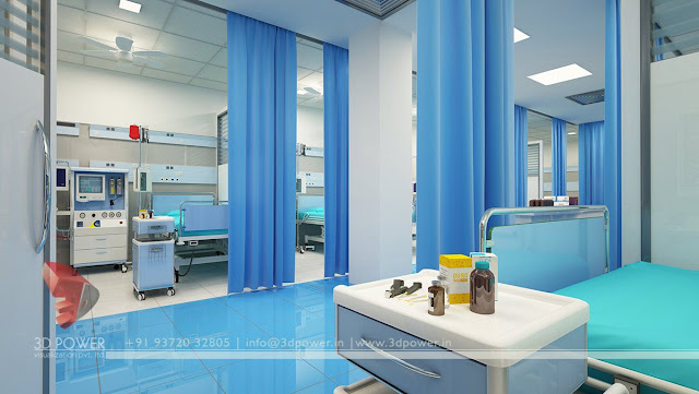 hospital calssic interior designs