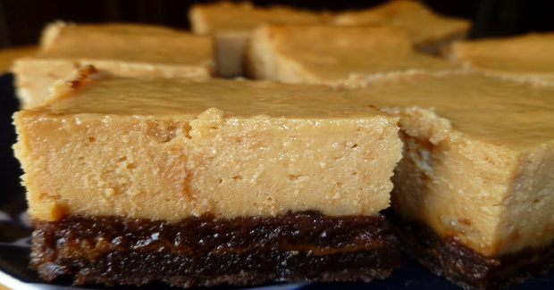 Dulce De Leche Cheesecake Brownies Recipe
