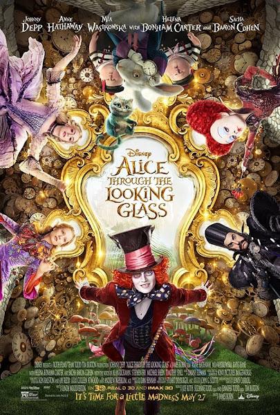 alice through the looking glass,魔鏡夢遊時光怪客,愛麗絲穿越魔鏡,鏡中奇遇記