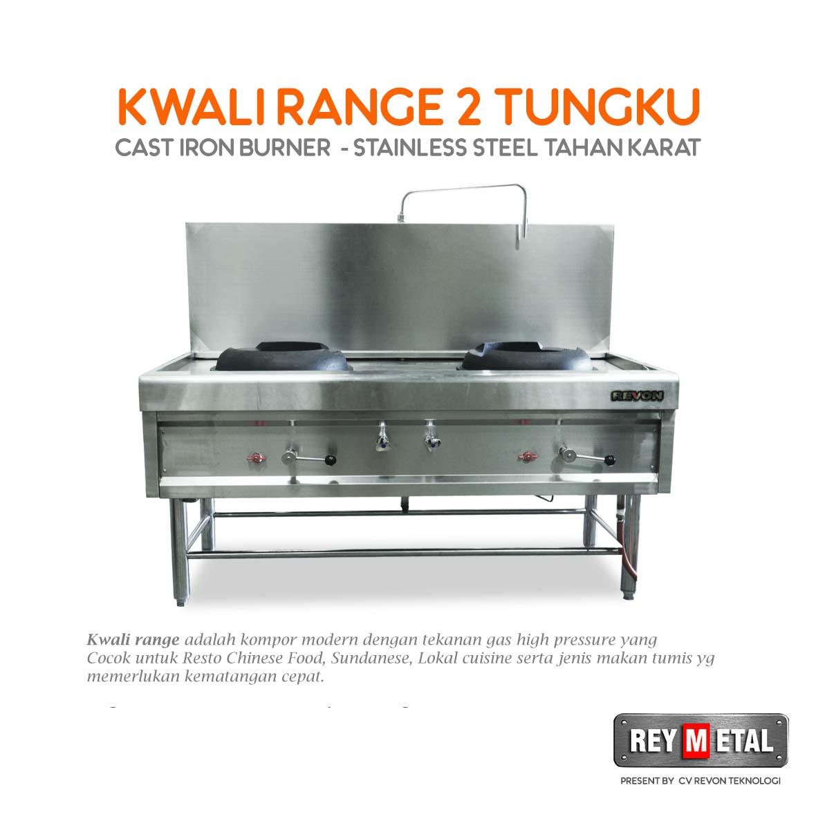 Jual Kwali Range 2 Tungku