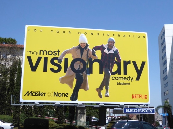 Master of None Visionary Emmy billboard