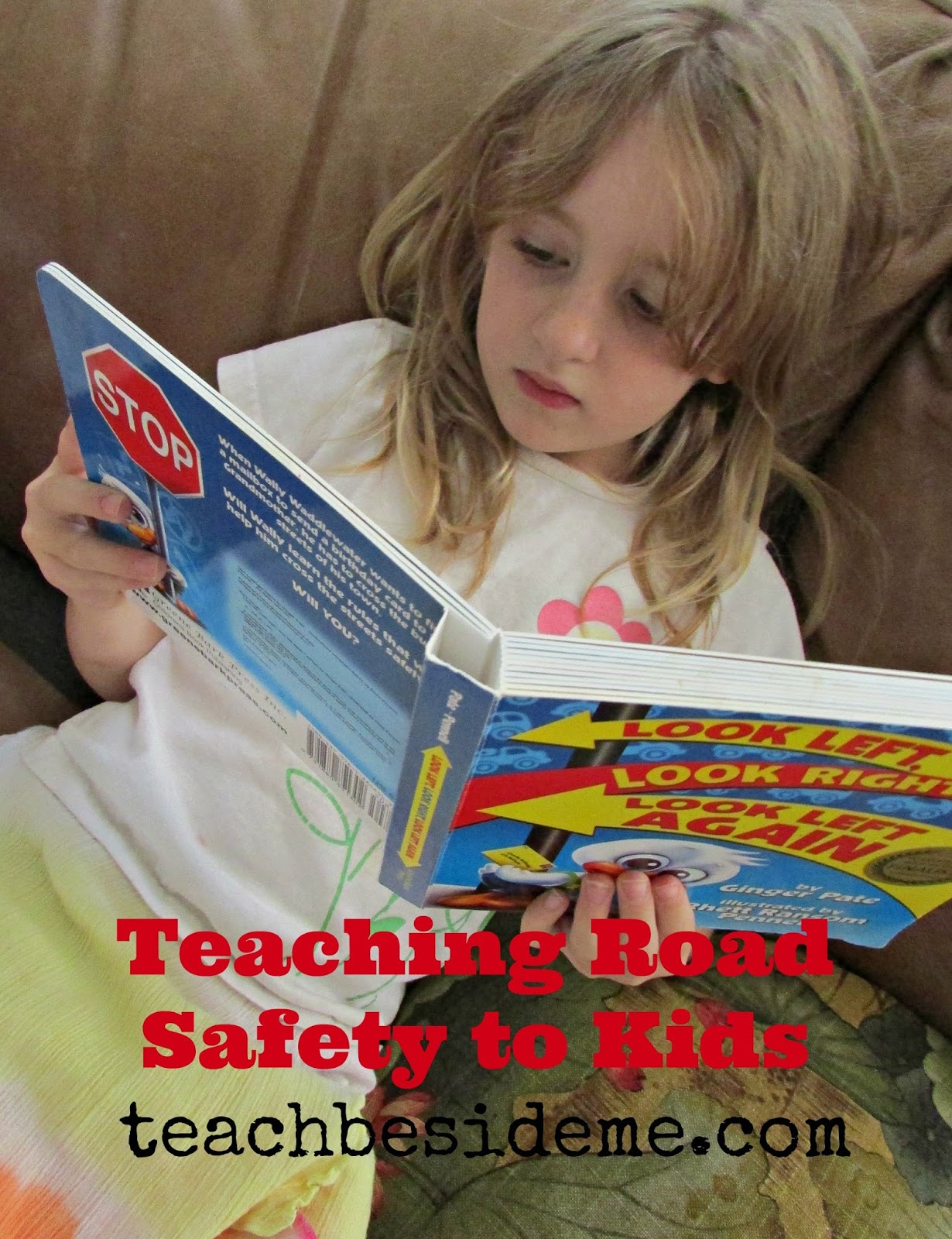 Road Safety Book Amp Game For Kids