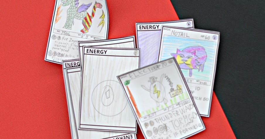 diy pokemon cards free printable template and next comes l