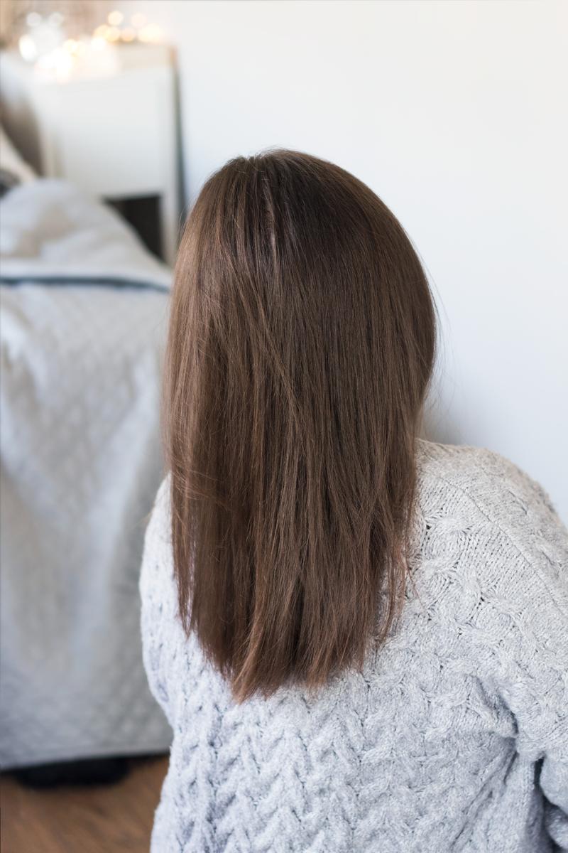 3 lata bez farbowania włosów - czy było warto? Jak pozbyłam się czerni?