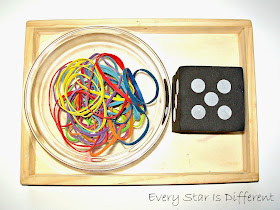Rubber Band Activity for Kids