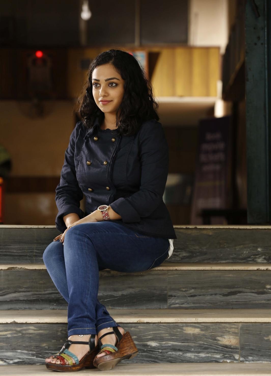 Actress NithyaMenon Latest Images