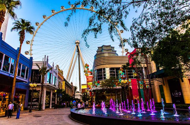 Como é o Hotel e Cassino The LINQ em Las Vegas ?