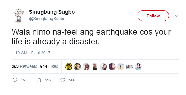 My list of Earthquake Hugot Posts! #Nabasakolang - The Lazy ...