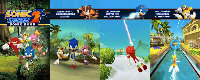 Sonic Dash 2: Sonic Boom 1 1 3 APK +Hack MOD | Download APK For Free