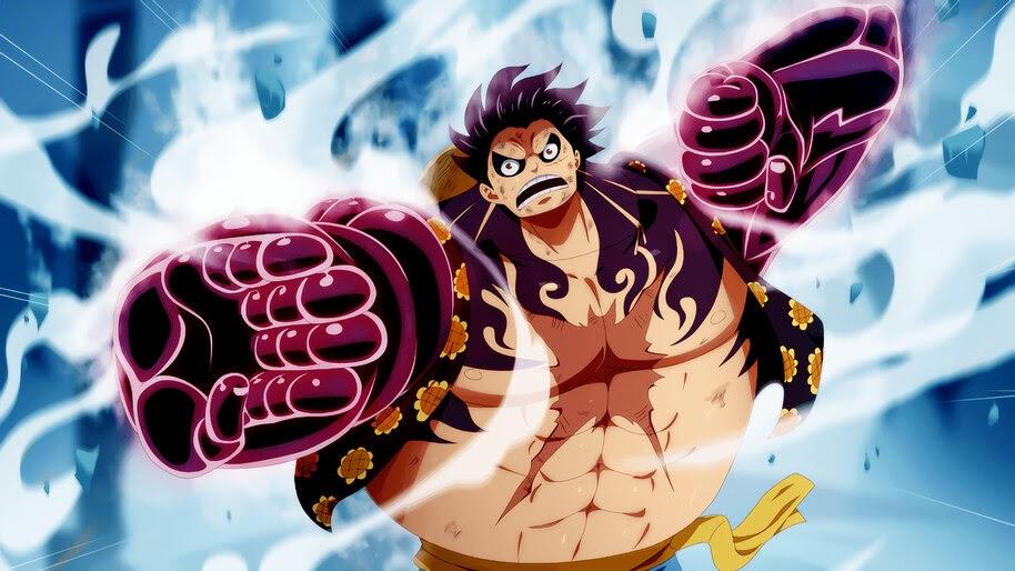 Luffy, Boundman, Gear Fourth, One Piece, 4K, #6.35